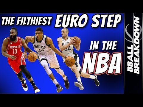 Who Has The FILTHIEST EURO STEP In The NBA?
