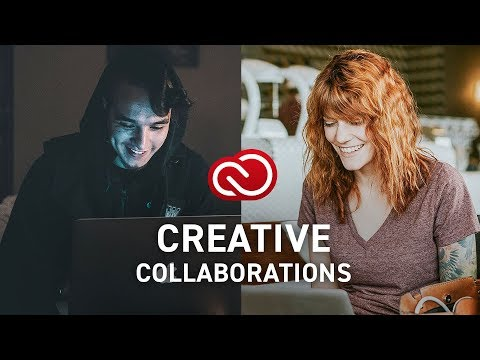 Cool Collaborations with Adobe Creative Cloud