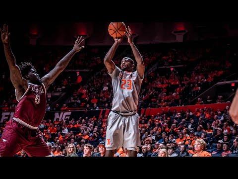 Illinois Men's Basketball Highlights vs NC Central 11/24/17