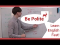 Learn English Fast  How to Politely Tell People What to Do