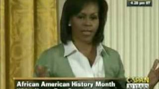 First Lady Michelle Obama Talked To 6th And 7th Graders