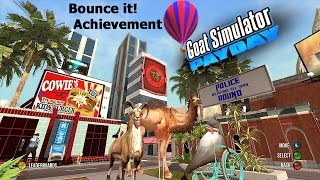 Goat Simulator PayDay DLC (Xbox) Bounce it! Achievement Guide