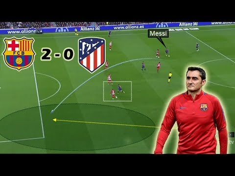 How Barca Broke Atletico's Central Overload | Barcelona vs Atletico Madrid 2-0 | Tactical Analysis thumbnail