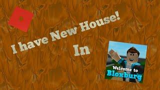 Eu tenho uma casa nova!! em Bloxburg!! | Jed Ivan [Roblox]
