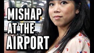 MISHAP AT THE AIRPORT! - November 08, 2017 - ItsJudysLife Vlogs