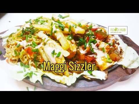 how to make veg sizzler at home in hindi