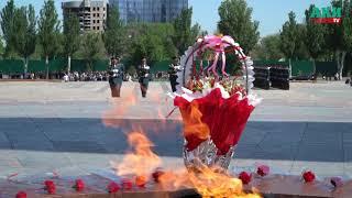 Генеральная репетиция митинга-реквиема посвященного Дню Победы