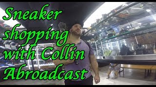 Shopping in hong kong with collin abroadcast. Are the sneakers at the consignment shops fake?