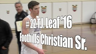T.J. Leaf '16, Foothills Christian Senior at 2015 UA Holiday Classic