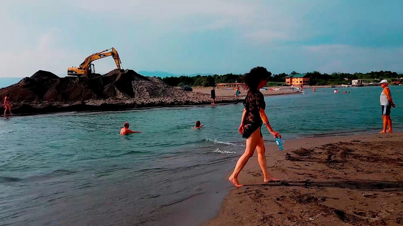 Ada Bojana Nudist Beach - YouTube