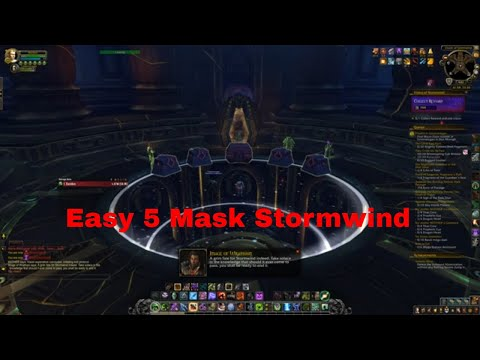 Stormwind 5 Mask Horrific Vision Guide