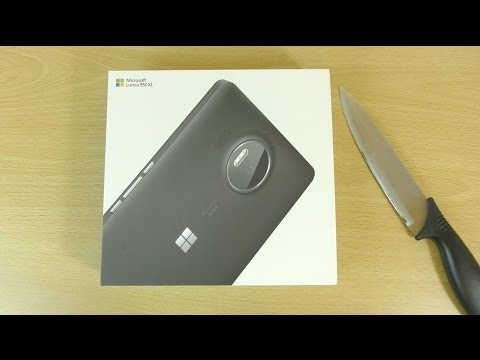 Microsoft Lumia 950 XL - Unboxing & First Look!
