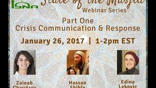 Webinar: Masjid Crisis Communication & Response