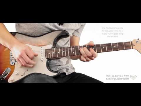 Hooked On An 8 Second Ride  Chris LeDoux  Guitar Lesson and Tutorial