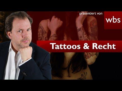 Wem gehört mein Tattoo? Tattoo Fotos bei Facebook illegal? | Rechtsanwalt Christian Solmecke