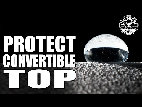 How To Clean And Protect Convertible Tops - Chemical Guys Auto Detailing