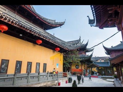 Jade Buddha Temple in Shanghai, China
