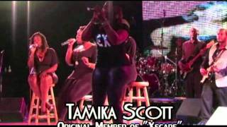 TAMIKA SCOTT FROM THE GROUP XSCAPE SURPRISES THE TALLAHASSEE NIGHTS LIVE AUDIENCE