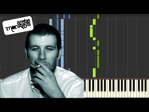 Arctic Monkeys - Mardy Bum [Piano Tutorial] (Synthesia)