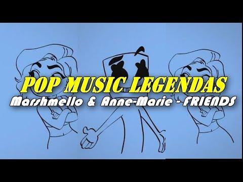 Marshmello & Anne-Marie - FRIENDS (Tradução/Legendado) Music Video