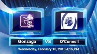 Gonzaga Hockey - V1 vs. O'Connell Livestream (2015-2016)