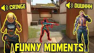 FUNNIEST MOMENTS IN VALΟRANT #57...