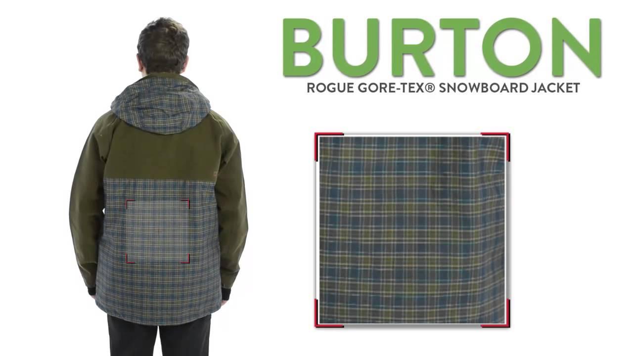 Burton 2l gore tex rogue jacket men's