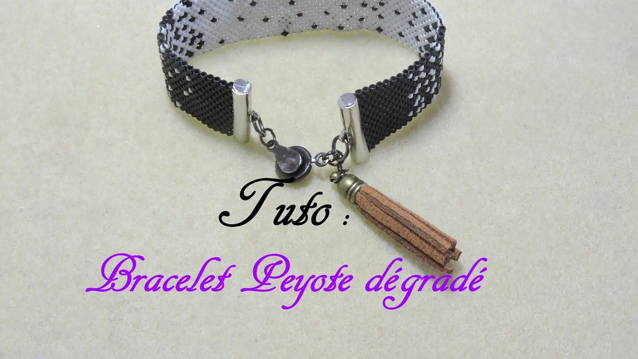 Super TUTO BRACELET PEYOTE DÉGRADÉ - YouTube WS93