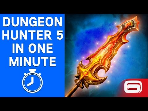 Dungeon Hunter 5 In One Minute