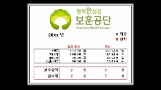 한국보훈복지의료공단은 얼마나 받을까? 보훈공단 연봉 알…
