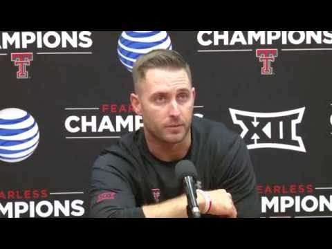 Kliff Kingsbury Post Game Presser - Oklahoma