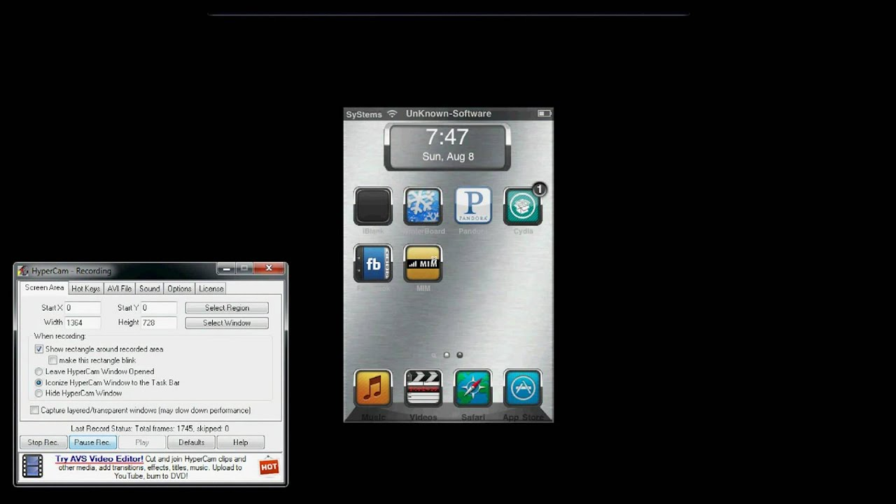 how to connect ipod to computer screen