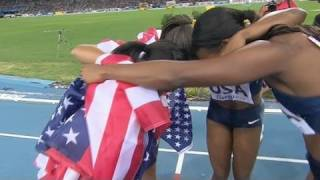 American Women reclaim 4x100 title - from Universal Sports