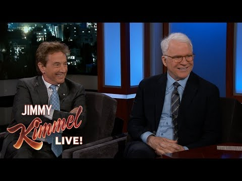 Jimmy Kimmel's FULL INTERVIEW with Steve Martin & Martin Short