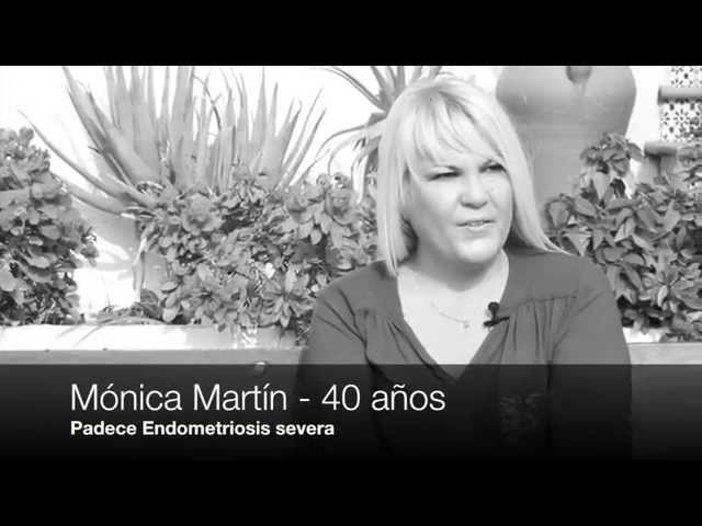Mónica Martín, padece endometriosis severa