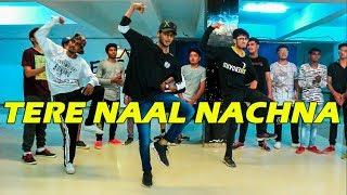 Nawabzaade: TERE NAAL NACHNA Dance Choreography @Ajeeshkrishna