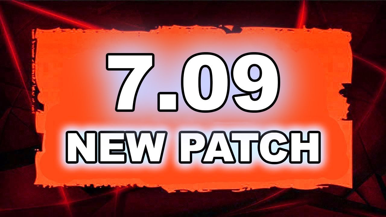 Dota 2 NEW 7.09 PATCH - Main Changes!