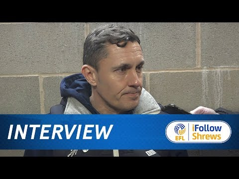INTERVIEW | Paul Hurst post AFC Wimbledon - Town TV
