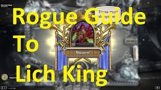 How to Beat The Lich King | Hearthstone | Simple Rogue Deck