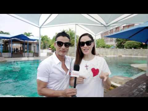 Simon Yam & Qiqi on Holiday at Resorts World Sentosa | 任达华与琦琦带你幸福走起快乐假期