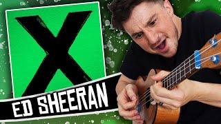 ed sheeran ukulele style x album medley