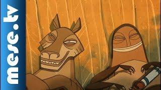 Kojot és a szikla - Sziú indián mese