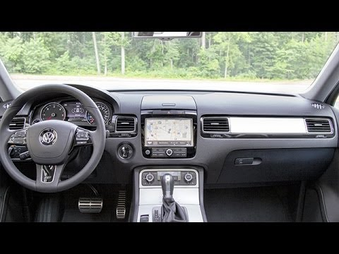 2014 volkswagen touareg interior review youtube. Black Bedroom Furniture Sets. Home Design Ideas