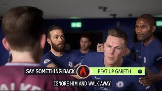 Fifa 18 danny williams fights gareth walker explained - fifa 18 the journey hunter returns gameplay