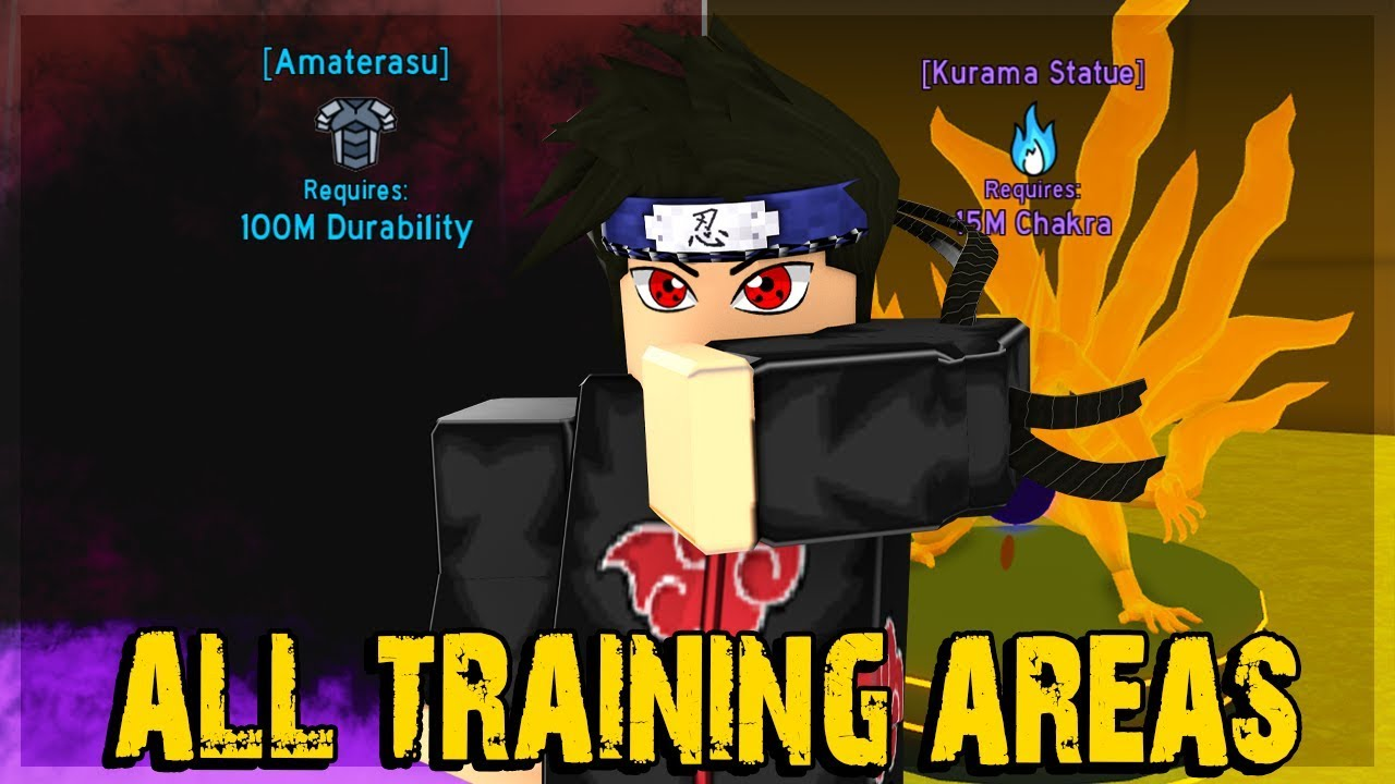 Noob To Pro All Training Areas In Anime Fighting Simulator Roblox