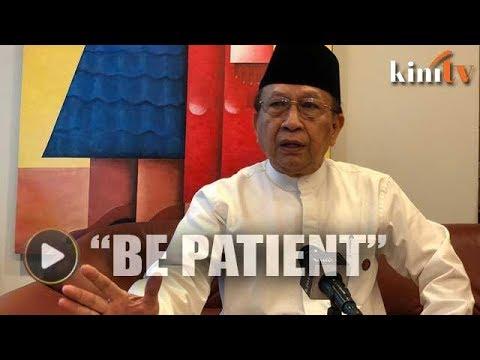 Be patient, Rais Yatim tells DAP