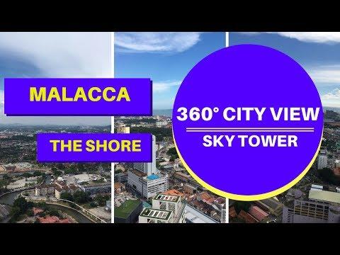 Malacca Sky Tower 360 Degree Sky Walk Melaka