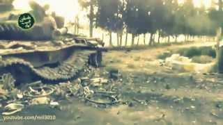 Война в Сирии. Русские танки. سوريا. الروسية الدبابات
