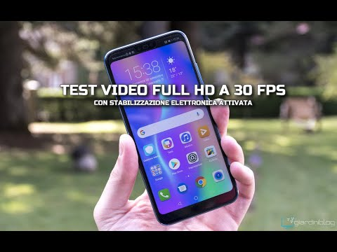 Honor 10 - Test Video 1080p 30 Fps con stabilizzazione elettronica