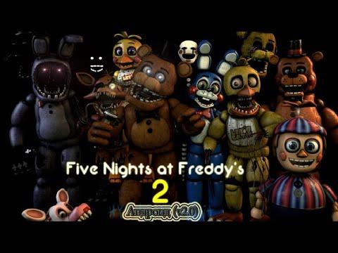 Remastered версия! Как на ПК/Five Nights At Freddy's 2 Android(v2.0)(FNAF) Прохождение#1